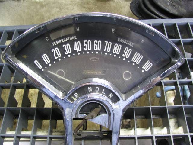 '55-'56 Chevy Instrument Cluster