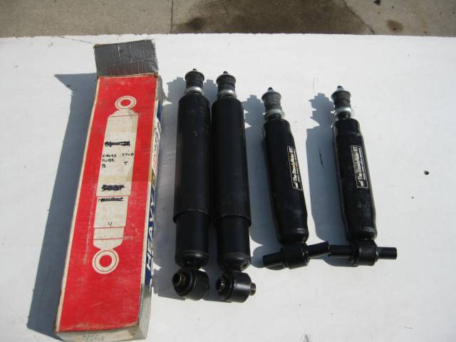 1965-69 CORVAIR NEW FRONT REAR SHOCKS